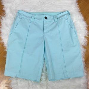 """Lululemon Women's """"Club Short"""" Aquamarine Size 6"""